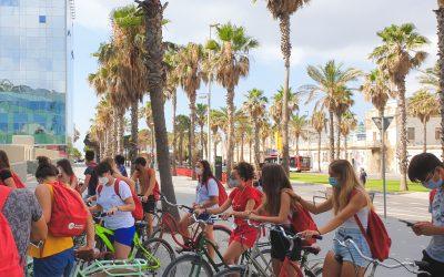 La Barcelona de Mamadou, una actividad social en bicicleta